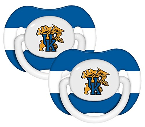 Kentucky Wildcats Official NCAA Baby Pacifiers by Baby Fanatic