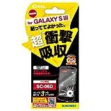 iDress docomo GALAXY S3(SC-06D)専用 液晶保護フィルム 衝撃自己吸収 SC06D-ASF