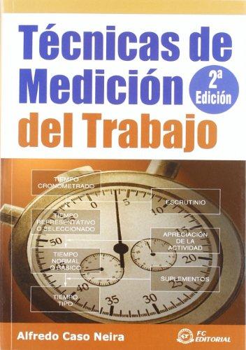 TECNICAS DE MEDICION DEL TRABAJO  descarga pdf epub mobi fb2