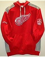 Detroit Red Wings NHL Red Sleeve Patch Hoodie Sweatshirt