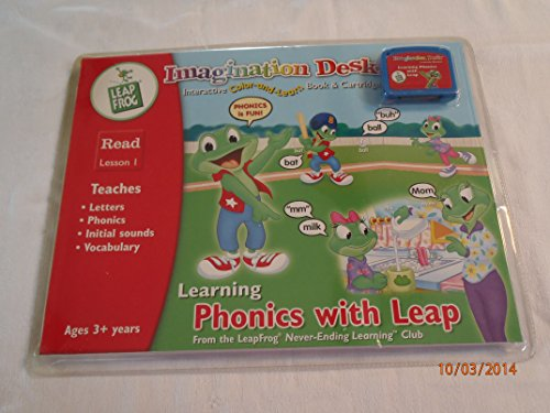 LeapFrog Imaginatin Desk Interactive Talk & Sing Coloring Book - 1