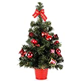 """Home-X® 20"""" Instant Christmas Tree. Tabletop Decorated Pine Tree."""