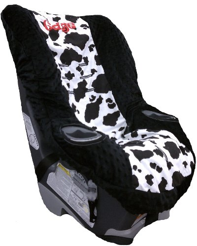 Graco My Ride 65 Car Seat Cover Toddler Cow Black