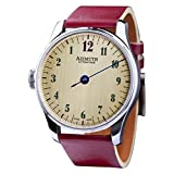 AZIMUTH ROUND-1 BACK IN TIME WHISKEY WATCH BACKWARDS MOTION SWISS ETA MOVEMENT