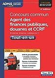 Concours commun Agent des finances publiques, douanes et CCRF - Tout-en-un - Catégorie C - Concours 2016-2017...