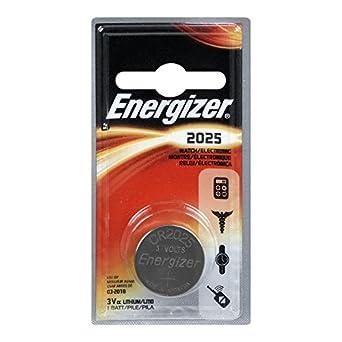 Energizer ECR2025BP Electronic Lithium 3V Batteries, Black/Red