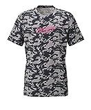 Rawlings(ローリングス) Tシャツ(AOS6S09) AOS6S09 ネイビー/ローズ L