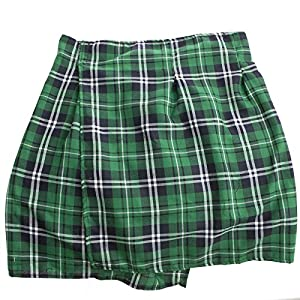 St. Patrick's Day Plaid Kilt