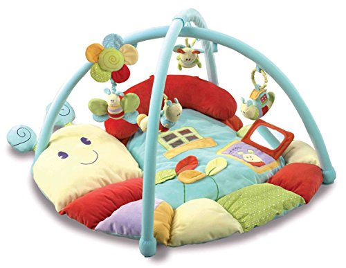 Little Bird Told Me LB3006 Softly Snail Multi-Activity Playmat & Gym Baby Toy