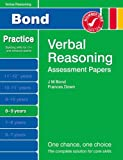 Frances Down New Bond Assessment Papers Verbal Reasoning 8-9 Years