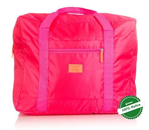 Hoperay Foldable Travel Luggage Duffle Bag Lightweight for Sports, Gym, Vacation (Garment Bag Light compare prices)