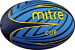 Mitre Cub 4p Rugby Ball - Blue/Yellow...
