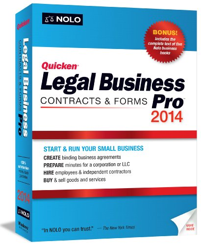 NOLO QUICKEN LEGAL BUSINESS PRO 2014