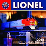 Lionel 2016: 16-Month Calendar September 2015 through December 2016