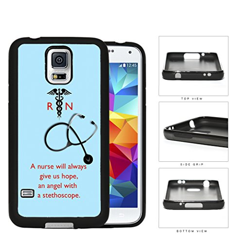 A-Nurse-Will-Always-Give-Us-Hope-Quote-With-Teal-Background-Rubber-Silicone-TPU-Cell-Phone-Case-Samsung-Galaxy-S5-SM-G900