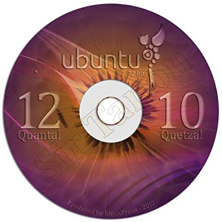 Ubuntu Linux 12.10 Special Edition DVD - Includes both 32-bit and 64-bit Versions