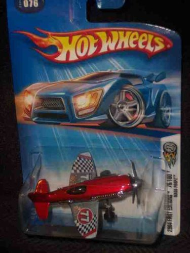 2004 First Editions -#76 Mad Propz Orange #2004-76 Collectible Collector Car Mattel Hot Wheels - 1
