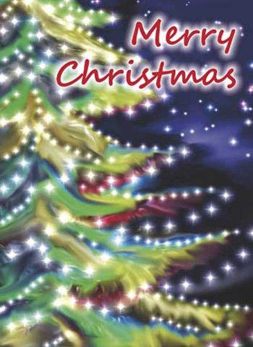 Glitzertanne - DVD Geschenkhülle - Blu-ray DVD-Verpackung Pappschachtel