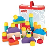 Fisher-Price Little People Builders Classic Shapes Blocks Infant, Baby, Child