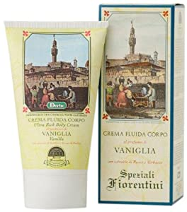 Speziali Fiorentini Ultra Rich Body Cream, Vanilla, 5.0 Ounce