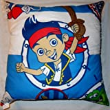 JAKE & THE NEVERLAND PIRATES 'DUBLOONS' 45 X 45 cm FILLED CUSHION