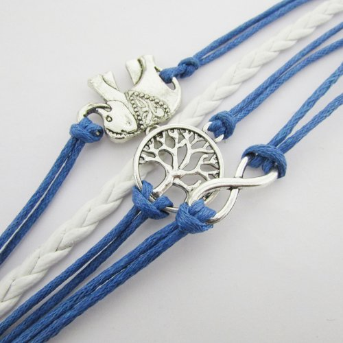 Pooqdo-TM-Cute-Handmade-Charms-Tree-Elephant-Knit-Leather-Rope-Chain-Bracelet-Gift