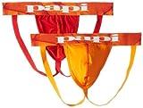 Papi Men's 2-Pack Microfusion Performance Jockstrap
