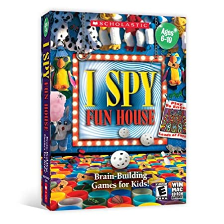 Scholastic I Spy Funhouse [Old Version]