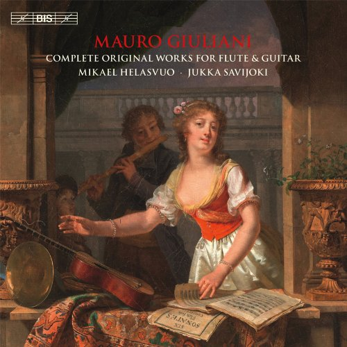 Giuliani: Complete Works For Flute & Guitar [Mikael Helasvuo, Jukka Savijoki] [BIS: BIS9045]