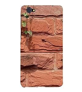 PrintVisa Brick Wall Design 3D Hard Polycarbonate Designer Back Case Cover for VivoX5Pro