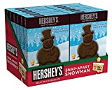 Hershey's Christmas Milk Chocolate Snap-Apart Snowman, 2-Ounce (Pack of 12)