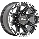 """Dick Cepek Torque Flat Black Wheel with Machined Accents (17x8.5""""/6x135mm)"""
