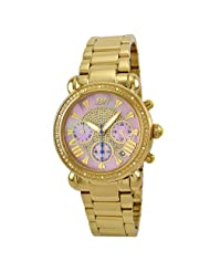 "JBW-Just Bling Women's JB-6210-I ""Victory"" Combo Gold Diamond Watch"
