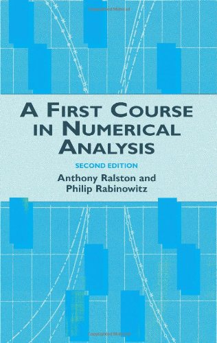 Ebooks rar free download A First Course in Numerical Analysis, Second Edition