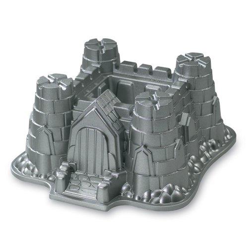 Nordic Ware Pro Cast Castle Bundt Pan front-499502