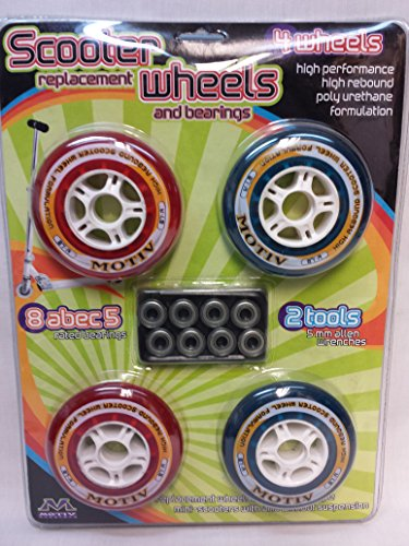 Scooter Replacemant Wheels and Bearings