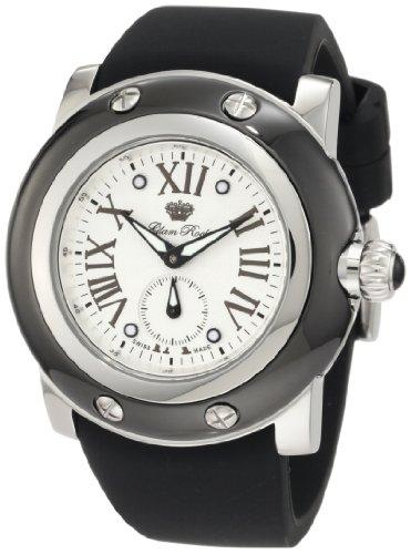 Glam Rock GRD10029 - Reloj de pulsera hombre, silicona, color negro