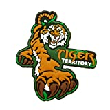 Official Tiger Territory Fierce Fridge Magnet