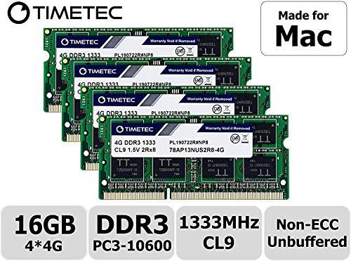 Timetec (16GB KIT(4x4GB) - Fast Ship) (Tamaño: 16GB KIT(4x4GB) - Fast Ship)