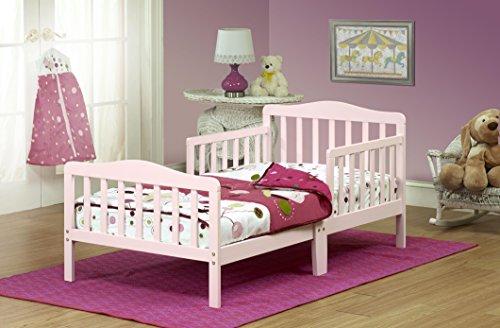 Orbelle 3-6T Toddler Bed, Pink - 1