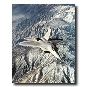 FA 22 Raptor Military Aircraft Jet Airplane Wall Picture 16x20 Art Print