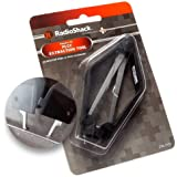 RadioShack Square IC PLCC Chip Extraction Tool Extractor Puller (Easily removes 18-Pin to 124-Pin PLCC ICs Simple Chips)