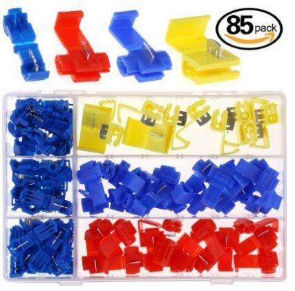 hilitchi-85pcs-quick-splice-lotfreie-draht-und-t-tap-elektrische-verbinder-sortiment-kit