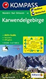 Karwendelgebirge: Wanderkarte mit Aktiv Guide, Panorama, Radwegen und Skitouren GPS-genau. 1:50000 (KOMPASS-Wanderkarten)