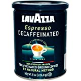Lavazza Decaffeinated Espresso Ground Coffee, 8 Ounce -- 1 each.
