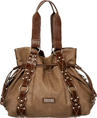 Taupe Marcela Tote, XL