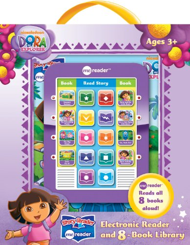 Dora the Explorer Me Reader Electronic Reader and 8-Book Library: (3 in)