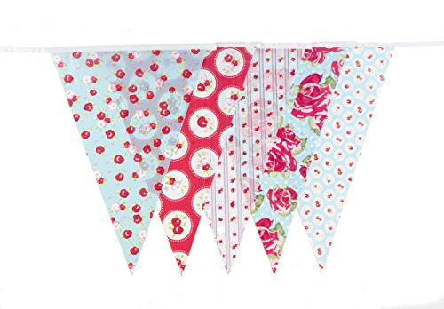 30ft Vintage Baby Bridal Shower Tea Party Banner Bunting Party Decoration Banner (C1008)
