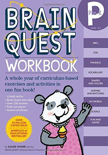 Brain Quest Workbook: Pre-K (The Quest Workbook compare prices)