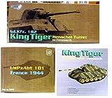 ドラゴンアーマー 1/72 完成品 60049 ドイツ 重戦車 King Tiger / キングタイガー ヘンシェル型、地雷防御用装甲仕様